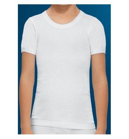 302 Camiseta niño manga corta de abanderado