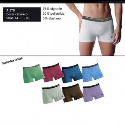 Boxer algodón, marca Pierre Cardin