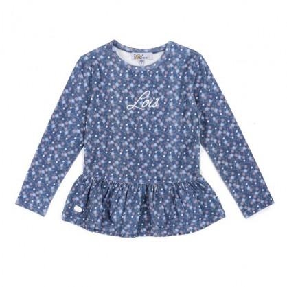 Camiseta flower, marca Lois AW