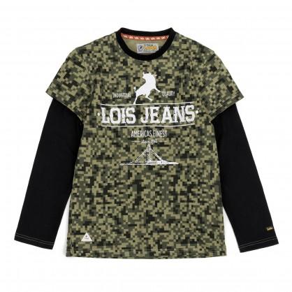 Camiseta pixel, marca Lois AW