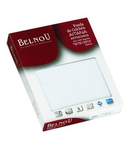 Funda de Colchón Elástica Rizo 100% Algodón marca BELNOU