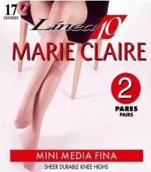 Mini medias espuma, marca Marie Claire