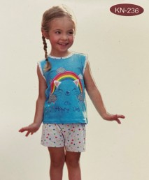 Pijama algodón, marca Kinanit