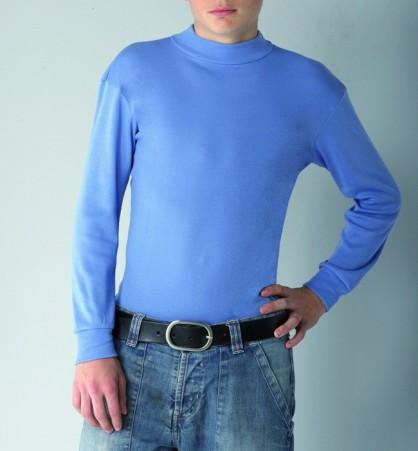 1131 Camiseta cuello semicisne, marca Assman